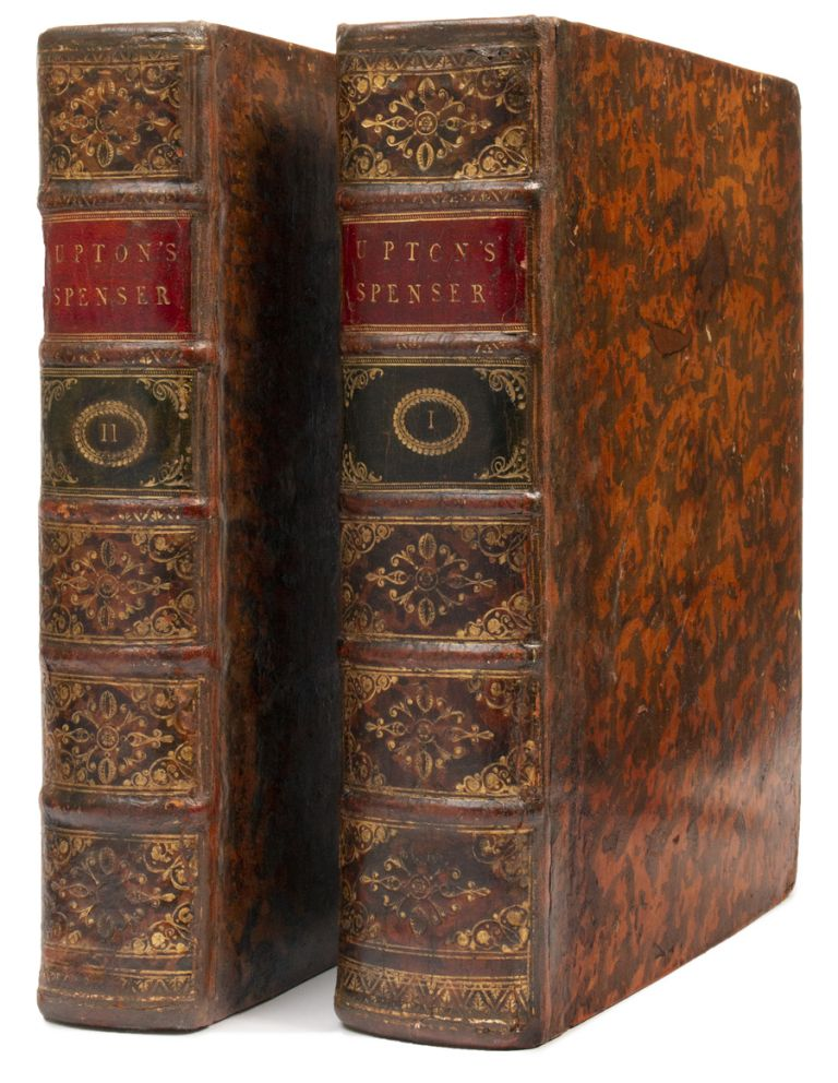 Spenser's Faerie queene. A new edition with a glossary, and notes explanatory and critical by John Upton . . . In two volumes [Extra-Illustrated]. John Upton, Edmund SPENSER, 1552?-1599.