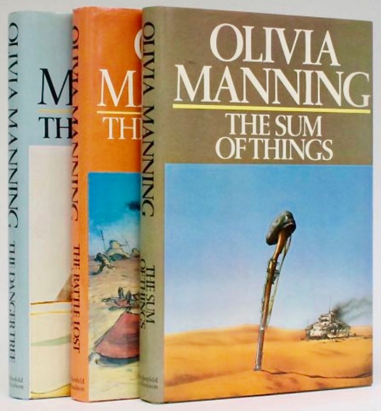 [The Levant Trilogy, comprising] The Danger Tree; The Battle Lost and Won; [and] The Sum of Things. Olivia MANNING.