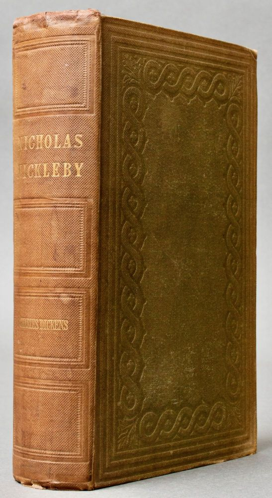The Life and Adventures of Nicholas Nickleby . . . With Illustrations by 'Phiz' [Original Cloth]. Charles DICKENS.