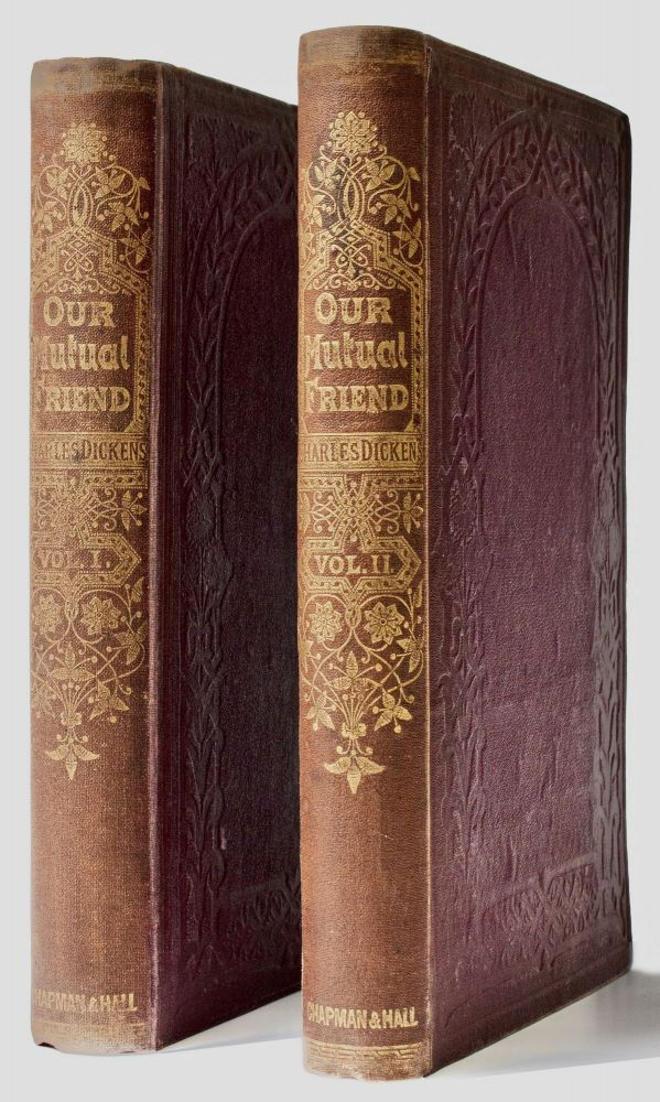 Our Mutual Friend . . . With Illustrations By Marcus Stone [Original Cloth]. Charles DICKENS.