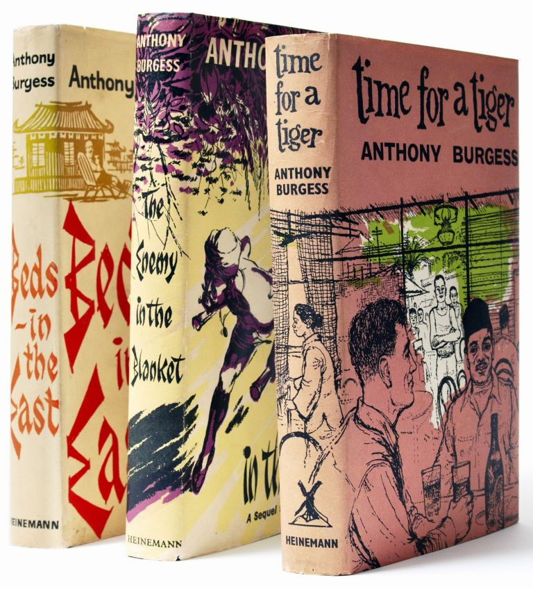 [The Long Day Wanes : A Malayan Trilogy, comprising] Time for a Tiger; [with] The Enemy in the Blanket; [and with] Beds in the East. Anthony BURGESS.