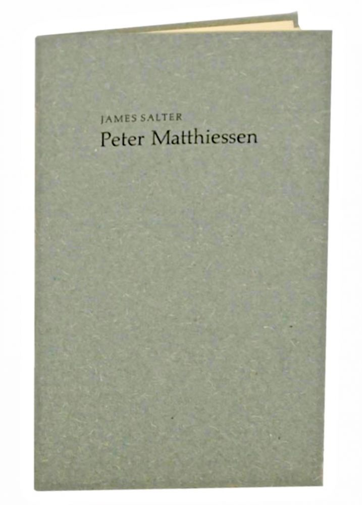 Peter Matthiessen. James SALTER.