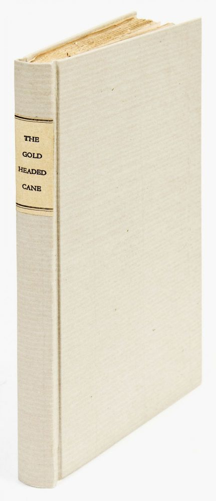 The Gold-Headed Cane [Biographical sketches of John Radcliffe, Richard Mead, Antony Askew, David Pitcairn, and Matthew Baillie]. William MACMICHAEL.