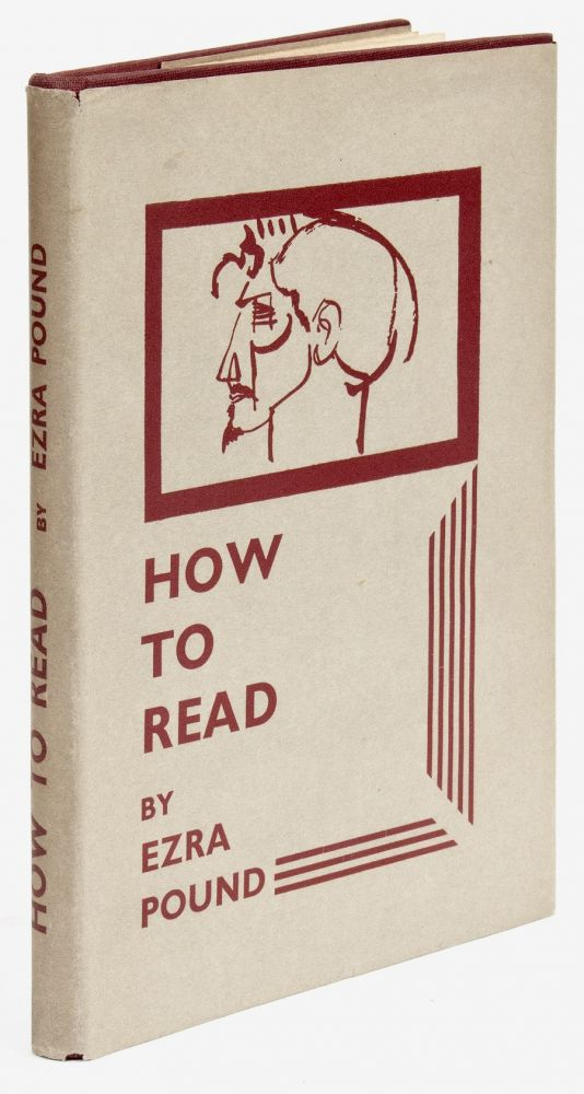 How to Read [First Issue]. Ezra POUND.