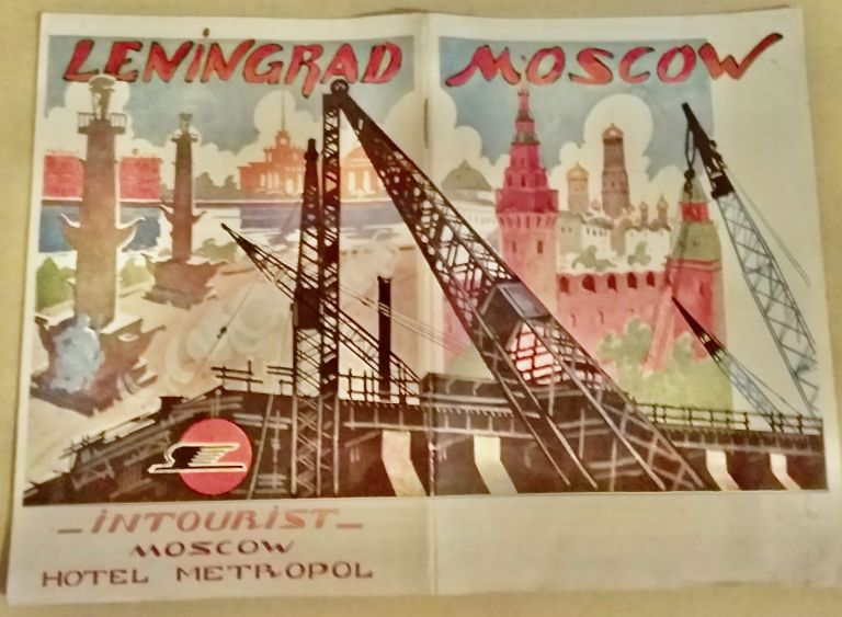 [Russia] Great Cities of the USSR [Moscow and Leningrad]. INTOURIST.