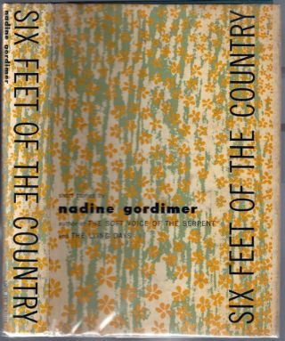 Six Feet of the Country. Nadine GORDIMER