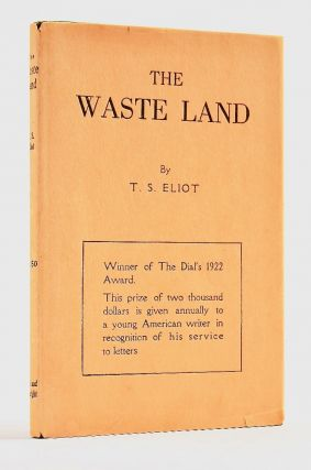 The Waste Land. ELIOT, homas, tearns.