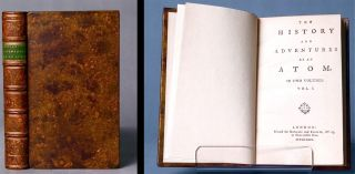 The history and adventures of an atom. In two volumes [First Issue]. Tobias George SMOLLETT