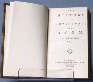 The history and adventures of an atom. In two volumes [First Issue]