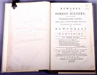Remarks on forest scenery, and other woodland views, (relative chiefly to picturesque beauty) illustrated by the scenes of New-Forest in Hampshire. In three books