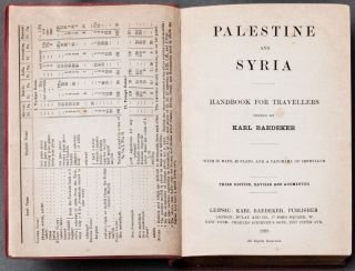 [Sinai] Palestine and Syria; Handbook for Travellers