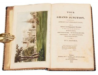 [Color Plate] Tour of The Grand Junction, illustrated in a series of engravings; with an Historical and Topographical Description of those parts of the counties of Middlesex, Hertfordshire, Buckinghamshire, Bedfordshire and Northhamptonshire, through which the canal passes