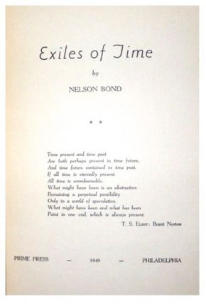 Exiles of Time