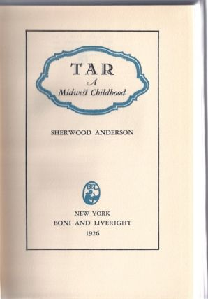 Tar : A Midwest Childhood