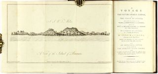 [Slave Trade] A voyage to the river Sierra-Leone, on the coast of Africa; containing an account of the trade and productions of the country, and of the civil and religious customs and manners of the people; in a series of letters to a friend in England