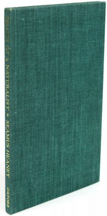 Death of a Naturalist [Signed]