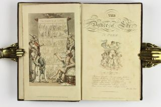 """The Dance of Life, a poem, by the author of """"Doctor Syntax."""" illustrated with coloured engravings, by Thomas Rowlandson"""