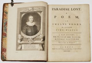 Paradise Lost. A Poem, in Twelve Books. The author John Milton. The Fifth Edition, With Notes of...