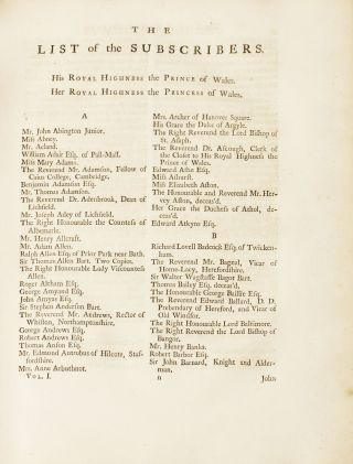 Paradise Lost. A Poem, in Twelve Books. The author John Milton. The Fifth Edition, With Notes of various Authors, By Thomas Newton, D. D. [Joseph Gulston's copy]