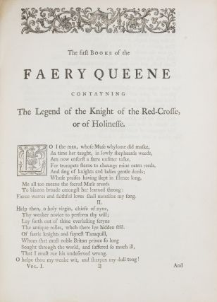 Spenser's Faerie queene. A new edition with a glossary, and notes explanatory and critical by John Upton . . . In two volumes [Extra-Illustrated]