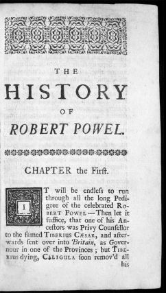 A Second Tale of a Tub: or, The History of Robert Powel the Puppet-Show-Man