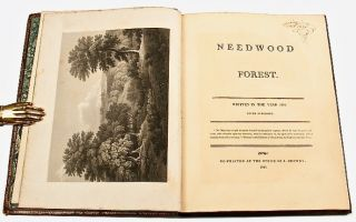 Needwood Forest. Written in the year 1776. Never published; [bound with] The Fall of Needwood