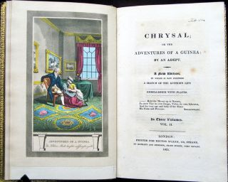 [Color Plate] Chrysal : or the adventures of a guinea : by an adept : a new edition, to which is now prefixed a sketch of the author's life : embellished with plates