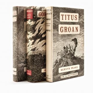 The Gormenghast Trilogy, comprising] Titus Groan; Gormenghast, [and] Titus Alone. Mervyn PEAKE