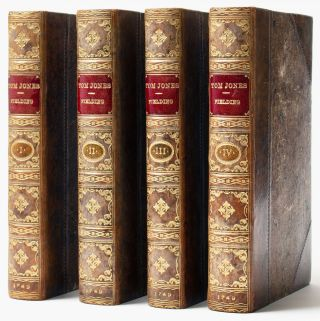 The history of Tom Jones, a foundling. In four volumes [Definitive Text]. Henry FIELDING