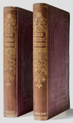 Our Mutual Friend . . . With Illustrations By Marcus Stone [Original Cloth]. Charles DICKENS
