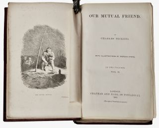 Our Mutual Friend . . . With Illustrations By Marcus Stone [Original Cloth]