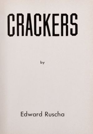 [Photo books] Crackers; [together with] Peanuts