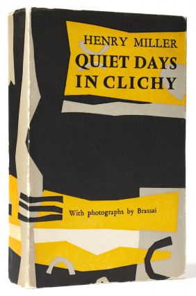 Photobook] Quiet Days In Clichy. BRASSAI, Henry MILLER