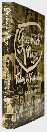 Photobook] Greenwich Village : Today and Yesterday [Signed]. Berenice ABBOTT
