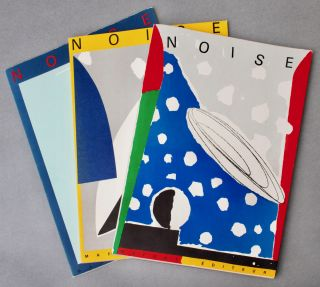 Art Journal] Noise 5; [with] Noise 6; [and with] Noise 15/16. artists and authors