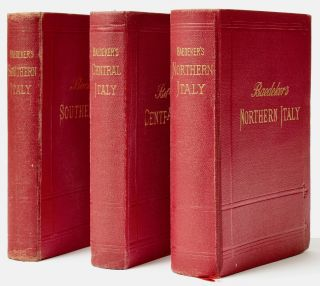 Italy, comprising] I. Northern Italy including Leghorn, Florence, Ravenna and routes through...