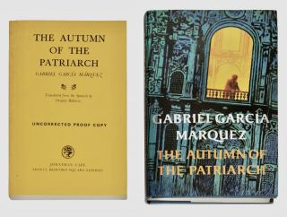 El otoño del patriarca] The Autumn of the Patriarch [with Advance Reading Copy]. Gabriel Garcia...
