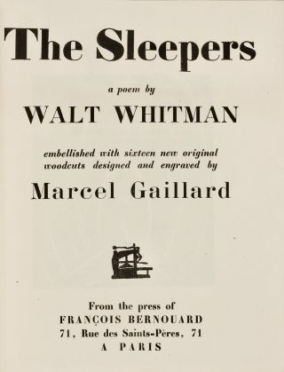The Sleepers : a poem