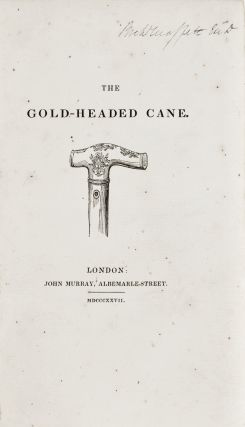 The Gold-Headed Cane [Biographical sketches of John Radcliffe, Richard Mead, Antony Askew, David Pitcairn, and Matthew Baillie]