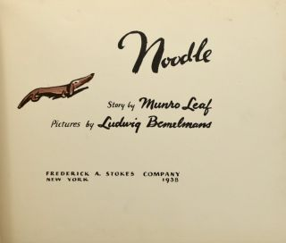 [Juvenile] Noodle [Signed and with doodle]