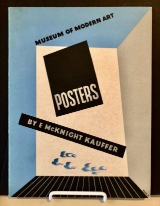 Exhibition Catalog] Posters by E. McKnight Kauffer. E. McKnight KAUFFER, Aldous HUXLEY, Edward,...