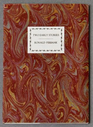 Two Early Stories [The Wavering Disciple; A Study in Opal]. Ronald FIRBANK, Edward GOREY,...