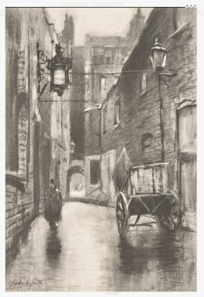 In Dickens's London: Twenty-two Photogravure Proofs Reproducing the Charcoal Drawings