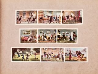 "[Fox Hunting] [Sports and Pastimes] A panorama of the progress of human life : fashionably displayed, illustrating ""Shakespeare's Ages"" and exhibiting the manners, costume, character and field sports of the English people ; the whole illustrative of modern character, in a series of many hundred moving figures [Signed]"