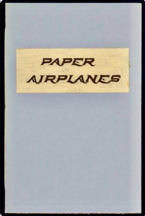 Paper Airplanes : 1911 and 1973. Arie KOELEWYN